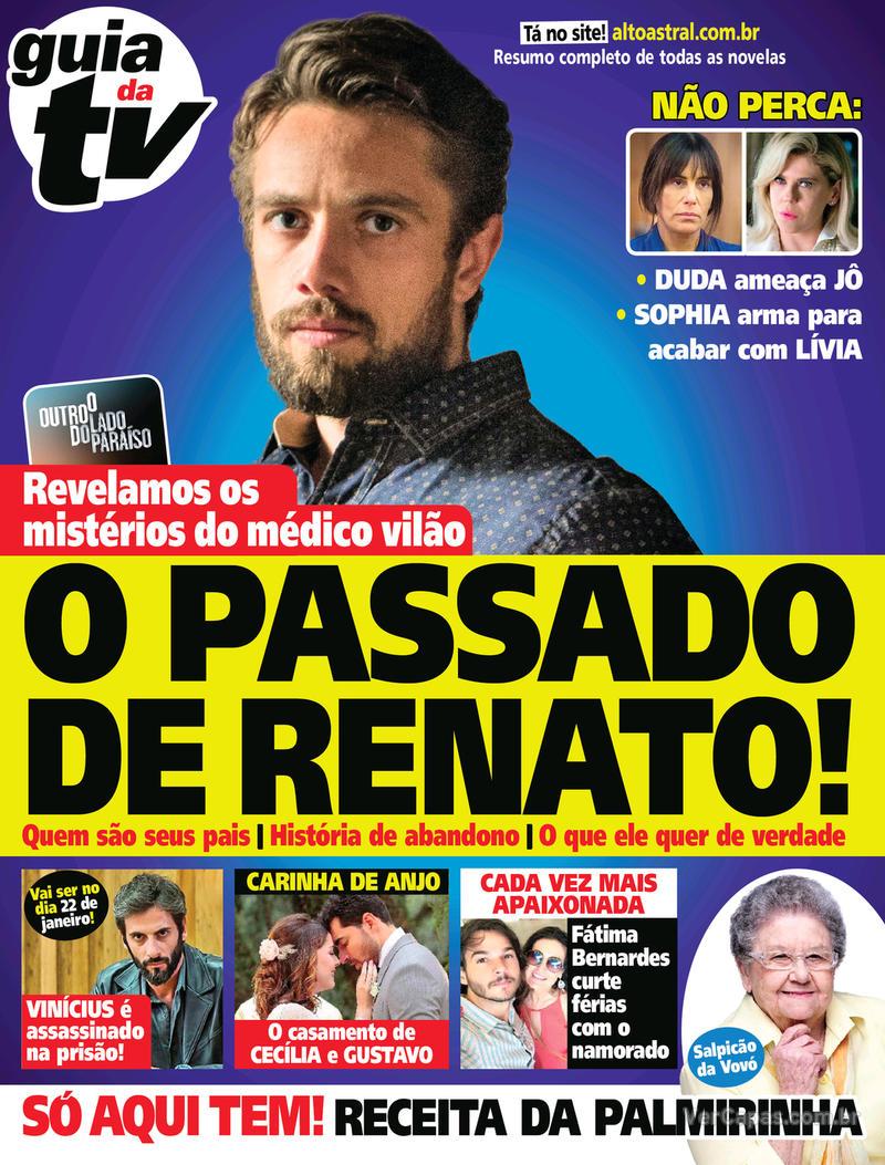 Capa da revista Guia da Tevê 31/01/2018