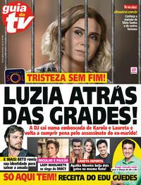 Capa da revista Guia da Tevê 01/08/2018