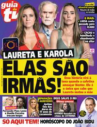 Capa da revista Guia da Tevê 04/07/2018