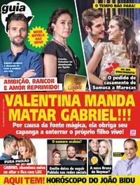 Capa da revista Guia da Tevê 07/11/2018