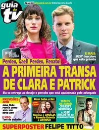 Capa da revista Guia da Tevê 03/01/2018