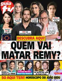 Capa da revista Guia da Tevê 15/08/2018