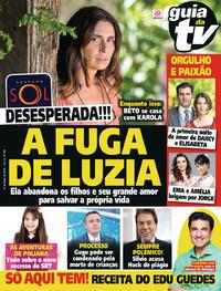 Capa da revista Guia da Tevê 16/05/2018