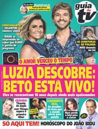 Capa da revista Guia da Tevê 23/05/2018