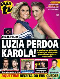 Capa da revista Guia da Tevê 24/10/2018