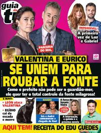 Capa da revista Guia da Tevê 21/11/2018