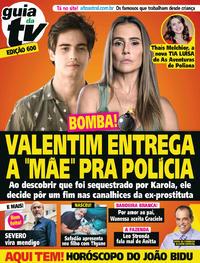 Capa da revista Guia da Tevê 26/09/2018