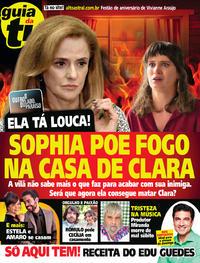 Capa da revista Guia da Tevê 28/03/2018