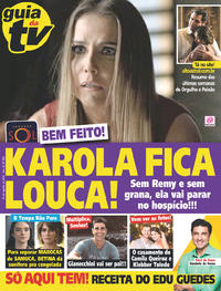 Capa da revista Guia da Tevê 29/08/2018