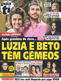 Capa da revista Guia da Tevê 31/10/2018