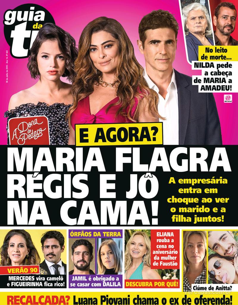 Capa da revista Guia da Tevê 05/07/2019