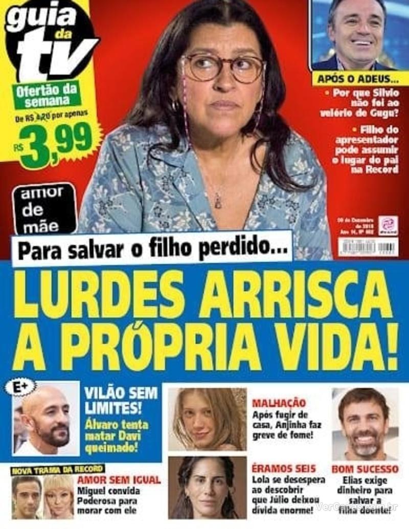 Capa da revista Guia da Tevê 06/12/2019