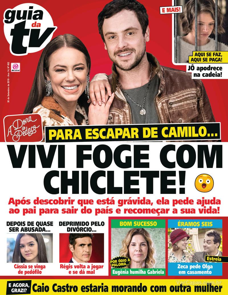 Capa da revista Guia da Tevê 27/09/2019