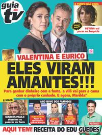 Capa da revista Guia da Tevê 02/01/2019