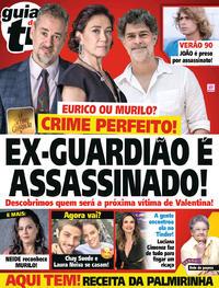 Capa da revista Guia da Tevê 06/02/2019
