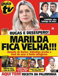 Capa da revista Guia da Tevê 09/01/2019