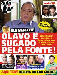 Capa da revista Guia da Tevê 24/04/2019