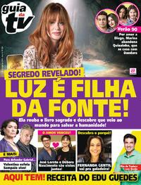 Capa da revista Guia da Tevê 29/03/2019