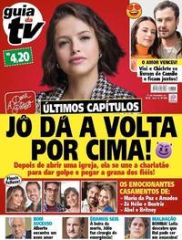 Capa da revista Guia da Tevê 08/11/2019