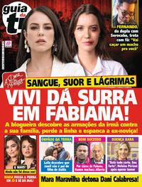 Capa da revista Guia da Tevê 09/08/2019