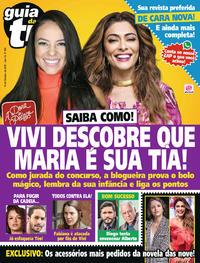 Capa da revista Guia da Tevê 11/10/2019