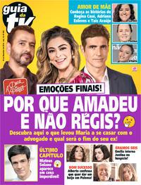 Capa da revista Guia da Tevê 15/11/2019