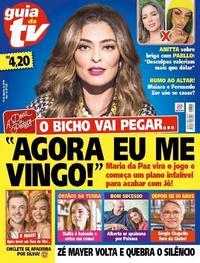 Capa da revista Guia da Tevê 16/08/2019