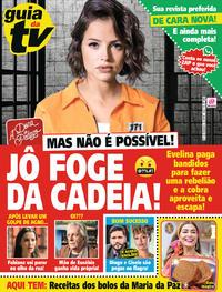 Capa da revista Guia da Tevê 18/10/2019