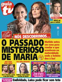 Capa da revista Guia da Tevê 20/09/2019