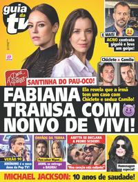 Capa da revista Guia da Tevê 21/06/2019
