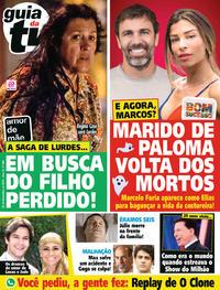 Capa da revista Guia da Tevê 22/11/2019