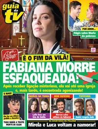 Capa da revista Guia da Tevê 23/08/2019