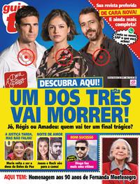 Capa da revista Guia da Tevê 25/10/2019