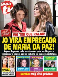 Capa da revista Guia da Tevê 30/08/2019