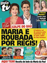 Capa da revista Guia da Tevê 31/05/2019