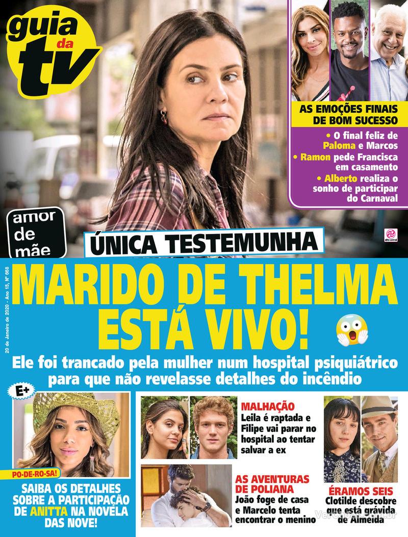 Capa revista Guia da Tevê 17/01/2020