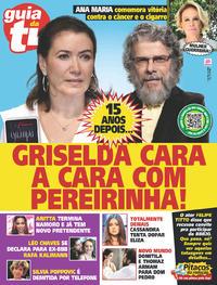 Capa da revista Guia da Tevê 01/05/2020