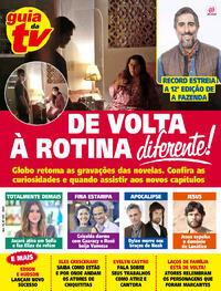 Capa da revista Guia da Tevê 04/09/2020