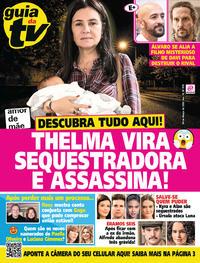 Capa da revista Guia da Tevê 06/03/2020