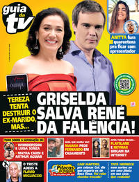 Capa da revista Guia da Tevê 08/05/2020