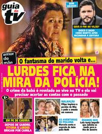 Capa da revista Guia da Tevê 10/01/2020