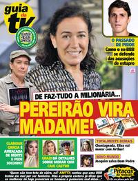 Capa da revista Guia da Tevê 10/04/2020