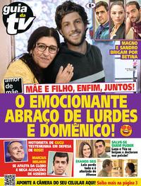 Capa da revista Guia da Tevê 13/03/2020