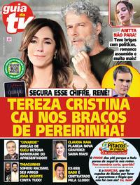 Capa da revista Guia da Tevê 15/05/2020