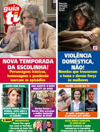 Capa da revista Guia da Tevê 16/10/2020