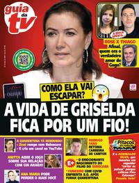 Capa da revista Guia da Tevê 22/05/2020