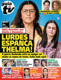 Capa da revista Guia da Tevê 28/02/2020