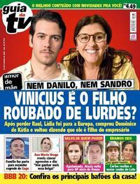 Capa da revista Guia da Tevê 31/01/2020