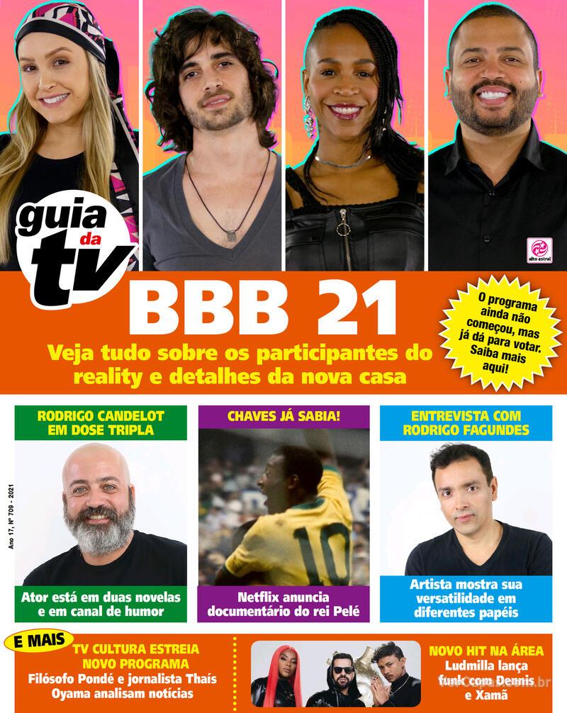 Capa da revista Guia da Tevê 22/01/2021
