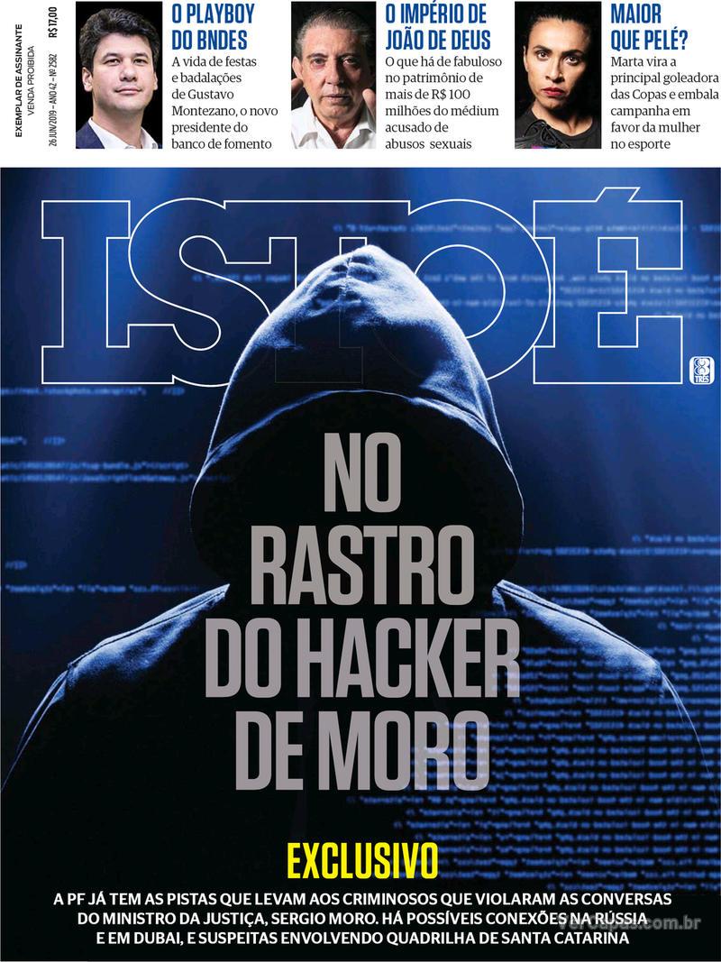 Capa revista ISTOÉ 21/06/2019